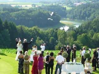 Heiraten auf dem Golfplatz