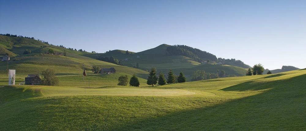 Golf Gonten in Appenzell. Foto: PR.
