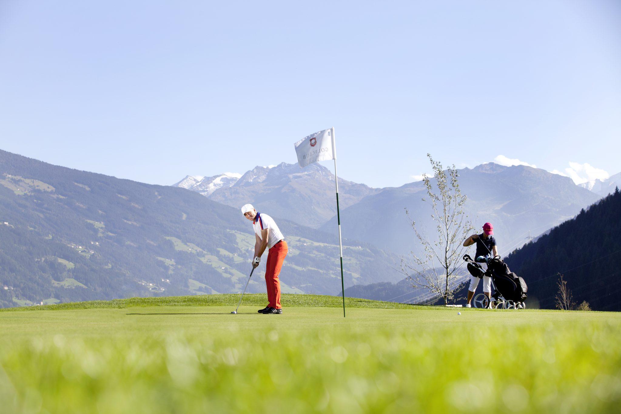 Der Golfclub Zillertal / Tirol.  Foto: pr/Zillertal Tourismus GmbH