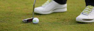 Golfball beim Putten. Foto: pr/ vcg