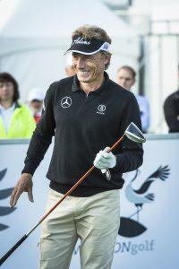 Bernhard Langer bei den WINSTONgolf Senior Open.