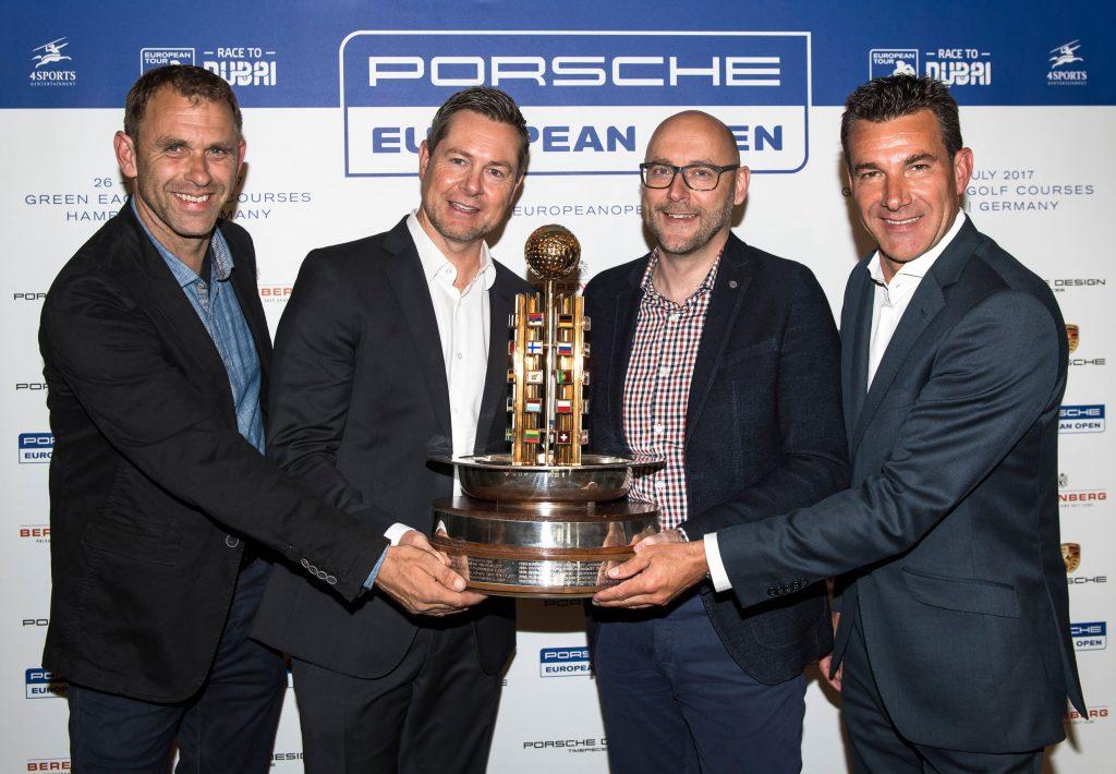 Porsche Euroepean Open Pressekonferenz