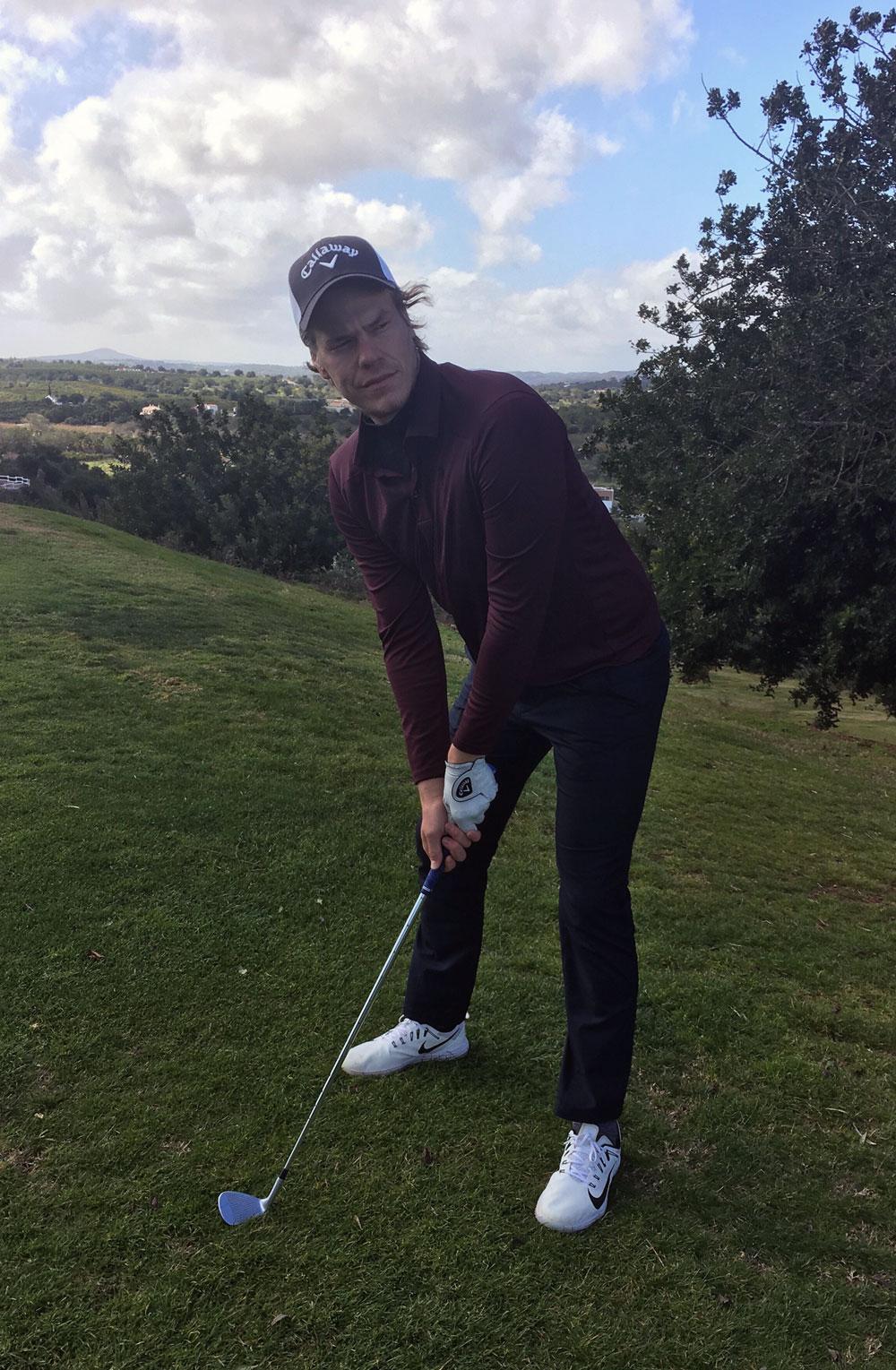 Interview dem Golfer Aaron Leitmannstetter - Golfsportmagazin