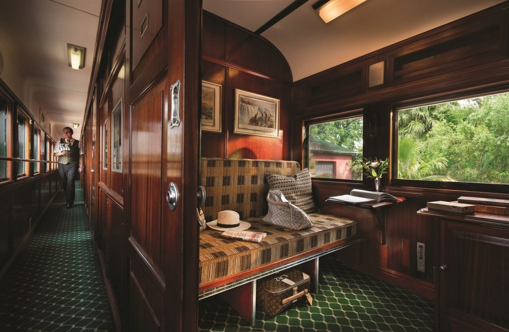 Die Pullmann Suite im Rovos Rail